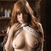Penny Pax Busty Curvy Redhead