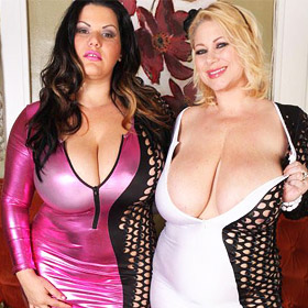 Samantha And her Busty Brunette Friend